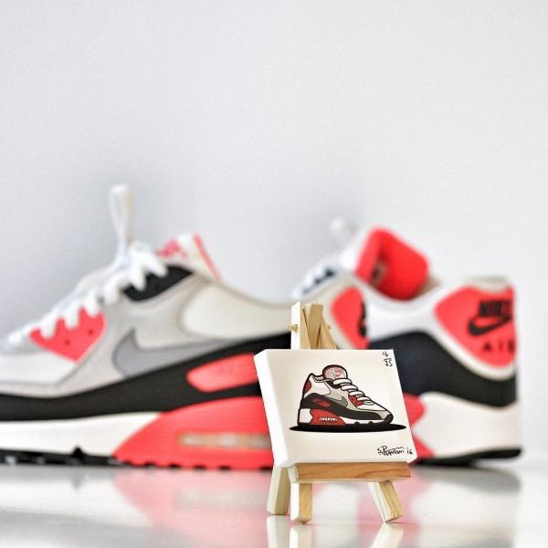 Sneakertoons Art Canvas