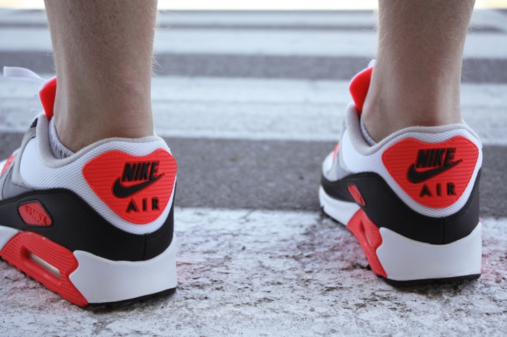 The Backs of the Air Max 90