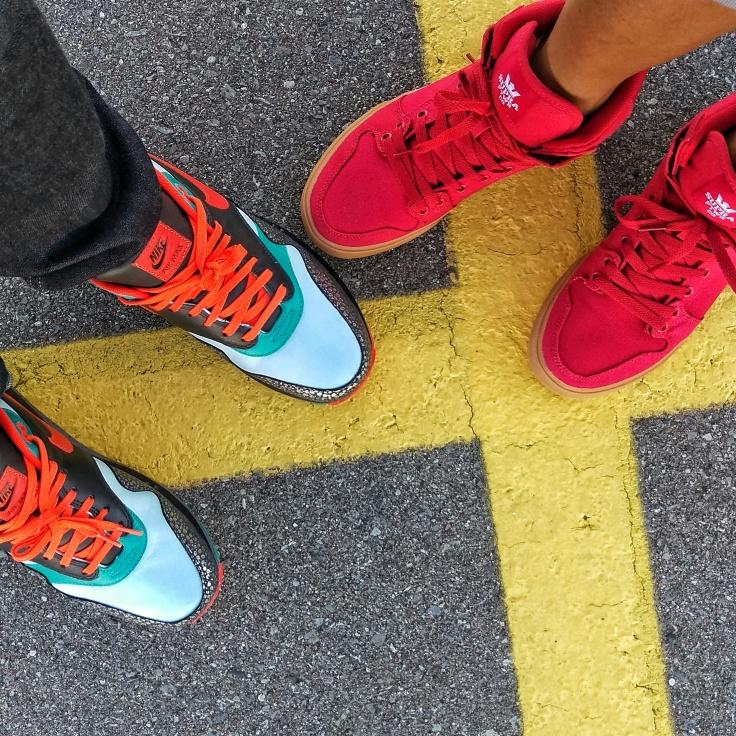 Supra and Nike Air Max