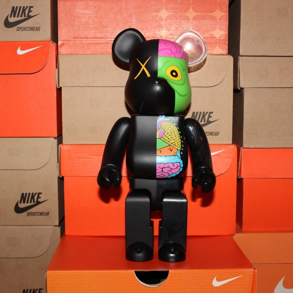 Bearbrick collaboration with KAWS 2009