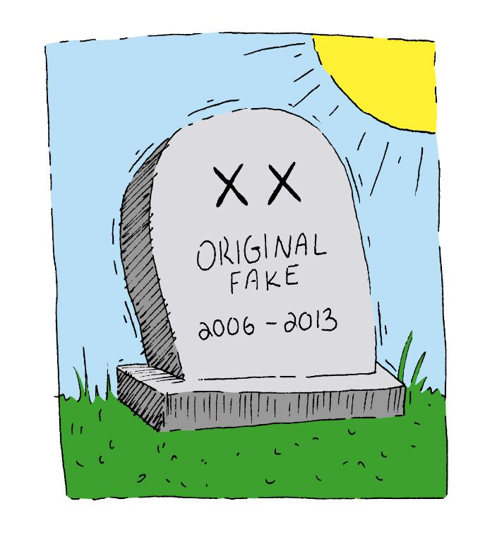 Original Fake RIP