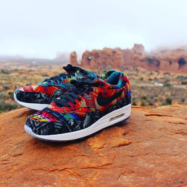 Pendleton Nike IDs in Arches National Park Utah