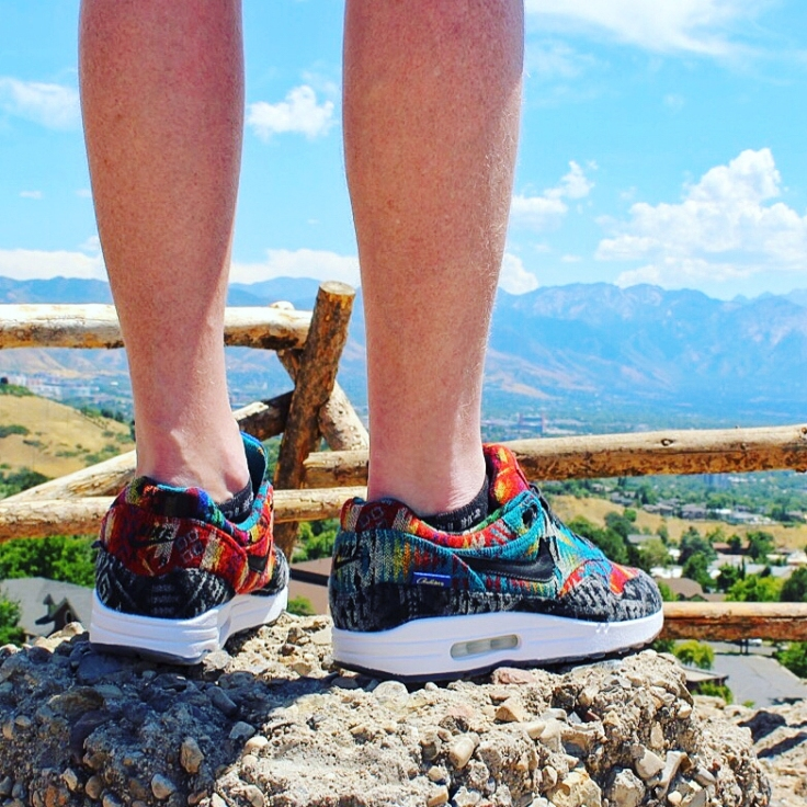 Pendleton Nike Ids Air Max 1 Salt Lake City