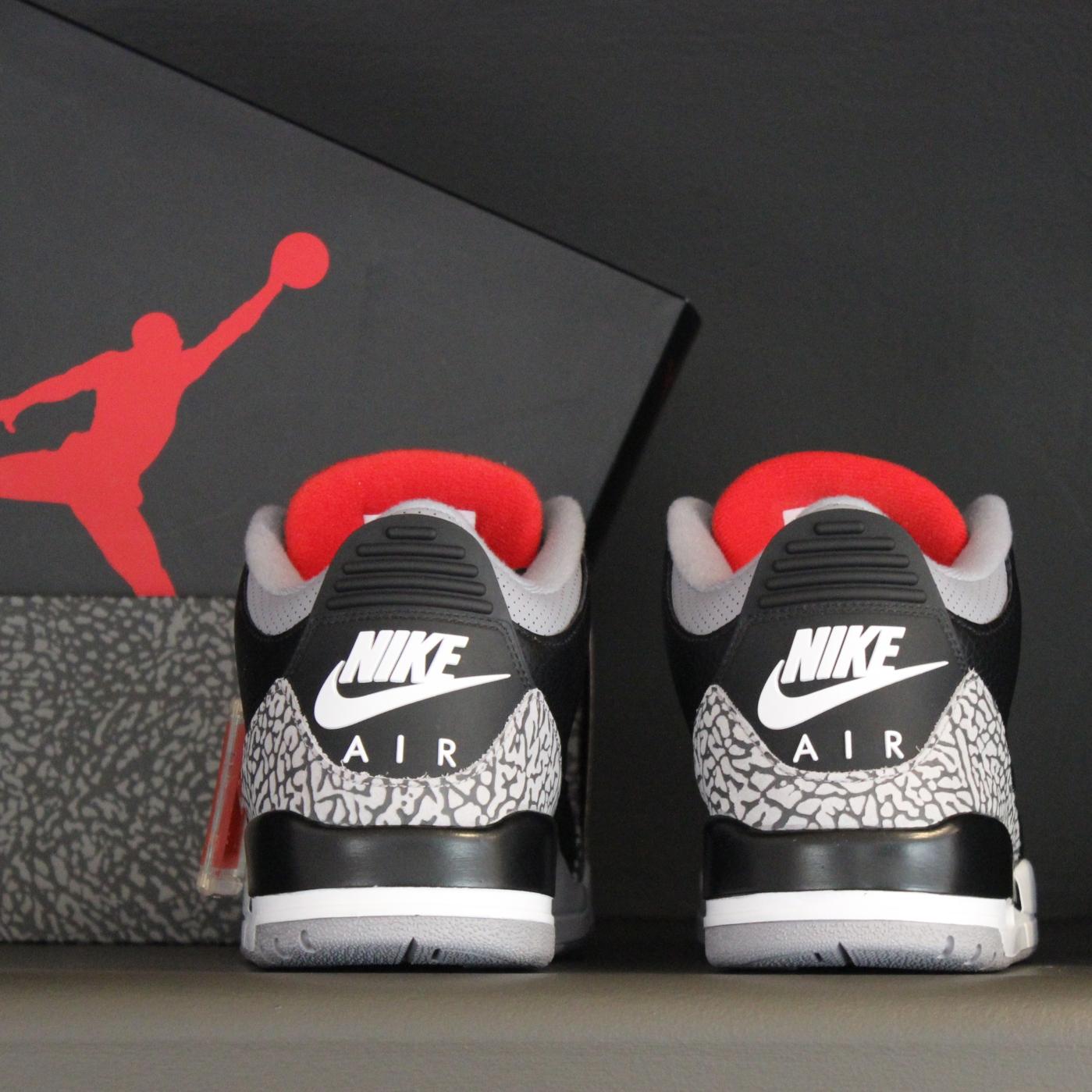 Black Cement Jordan 3