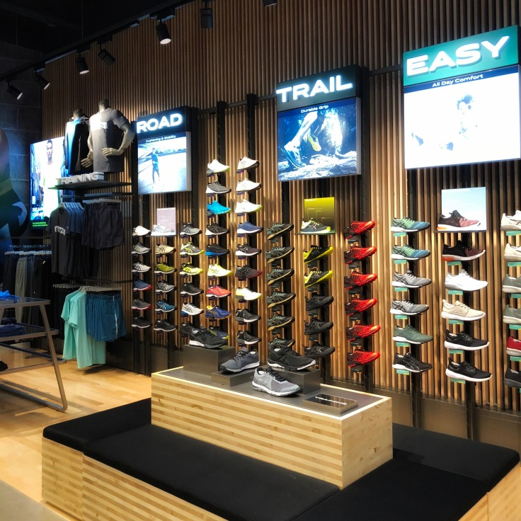 Asics Performance Wall
