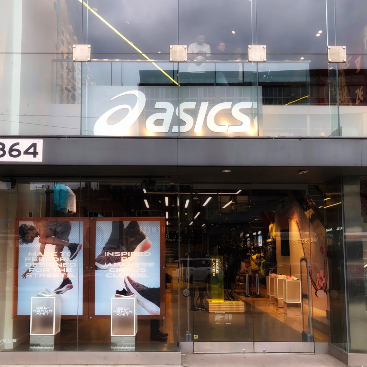 Asics Flag Ship Store in Toronto