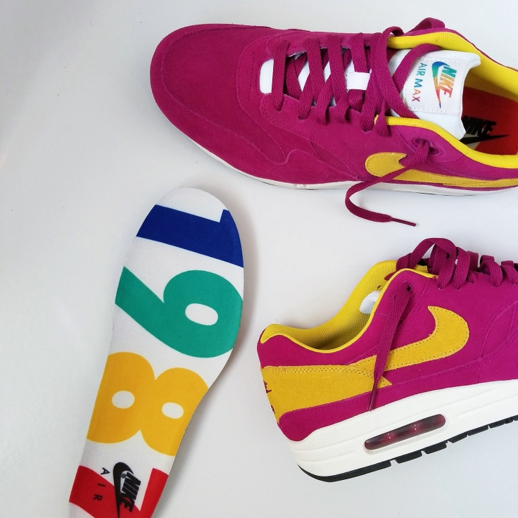 Nike Am 1 - Unique 1987 Insole Design