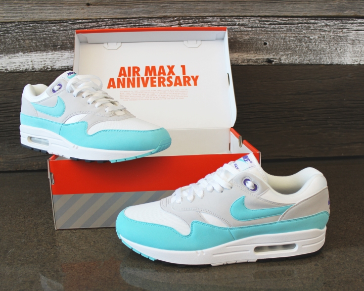 Air max 1 Anniversary - Aqua Am1s