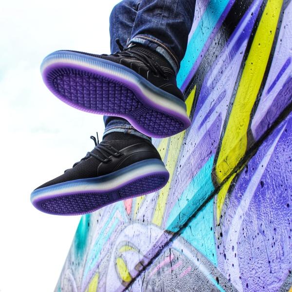 Puma Clyde Court Purple Glows